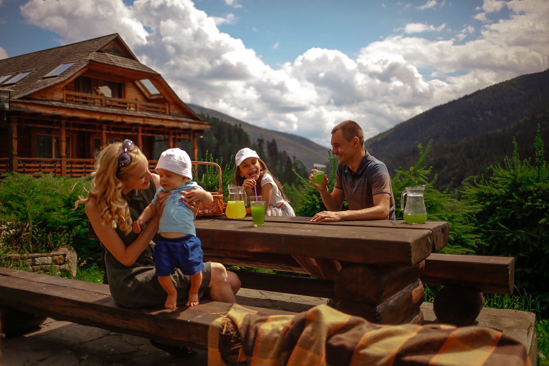 отдых в карпатах с детьми летом