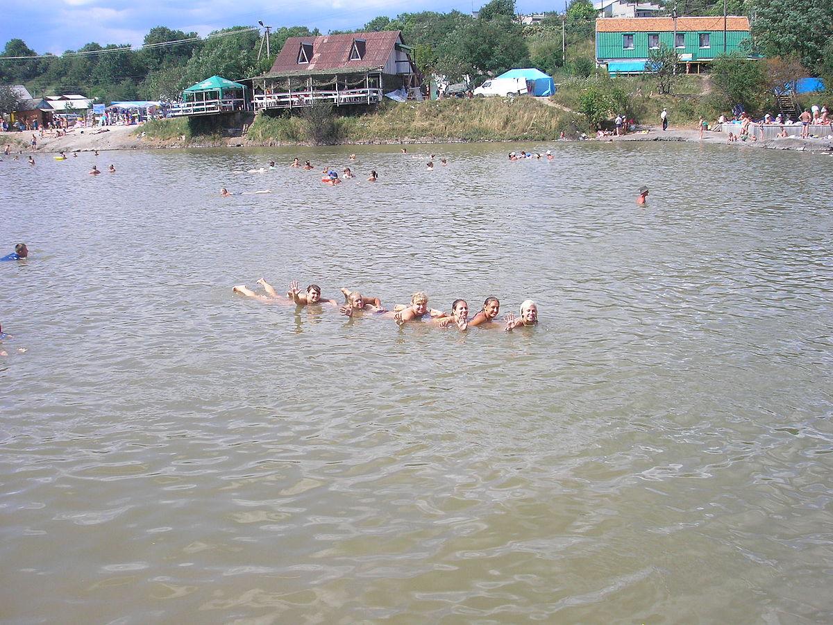 соляные озера солотвино